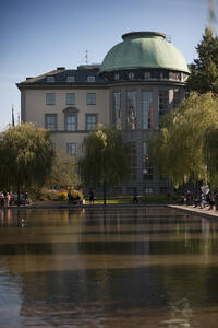 SSE building by water